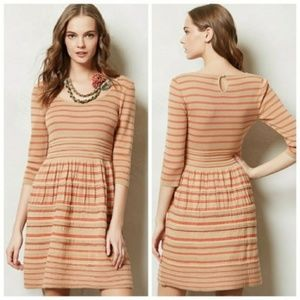 Anthropologie Knitted & Knotted Elodie Dress
